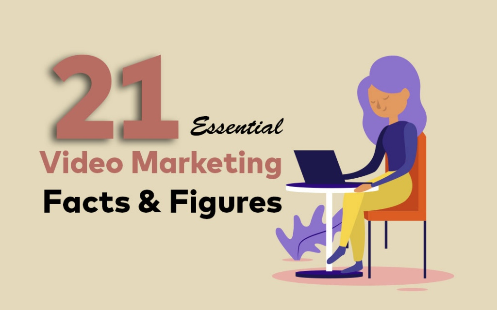 21 video marketing facts and figures, video production nz, social media marketing